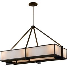 The Feiss Stelle 6 light billiard island chandelier in oil rubbed bronze enhances the beauty of your home with ample light and style to match today's trends. Innovation and creativity are what makes this piece stand out from the rest. Oil Rubbed Bronze, Feiss, Ceiling Lights, Oil Rubbed Bronze Chandelier, Pendant Light Design, Lights, Pendant Light, Light, Chandelier