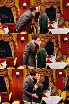 the Shamy, the kiss. (Sheldon, Amy, The Big Bang Theory)