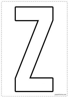 z letras para recortar y pegar guirnalda feliz cumpleaños Abc Letra, Alphabet Templates, Abs, Typography, Letters, Words, Soccer Ball, Barbie, Gifts