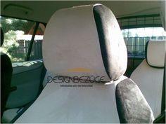 perfekte Sitzform der Kopfstützenbezüge im Citroen C4 Picasso #designbezuege #designbezuege nach maß #Tuning, #Stickerei, #Tuning, #Citroen C4 Picasso,  #Rautenmuster Picasso, Diamond Pattern, Embroidery, Vehicles