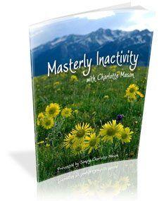 FREE Charlotte Mason Ebook Masterly Inactivity