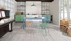 Mumble Gris Wood Effect Tile