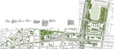 Gallery of Ödemis New City Center Proposal / Onat Öktem + Okan Can - 25 Masterplan Architecture, Web Pics, New City, Master Plan, Proposal, Floor Plans, Graphics, How To Plan, Gallery