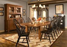 Rectangular Leg Table from Attic Heirlooms® at BroyhillFurniture.com