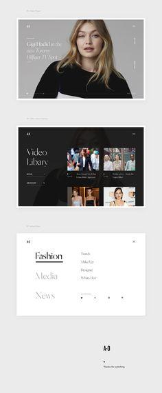 Responsive Web Design, Ui Ux Design, Graphic Design, Modern Web Design, Best Web Design, Web Layout, Layout Design, Online Fashion Magazines, Web Design Inspiration