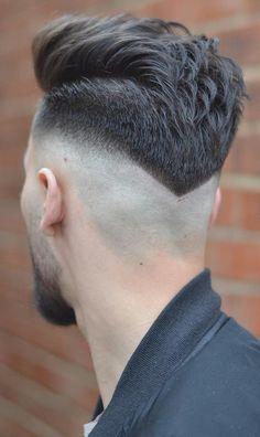 Trendy Haircut For Men Hombre Ideas Trendy Mens Haircuts, Cool Hairstyles For Men, Girl Haircuts, Popular Haircuts, Hairstyles Haircuts, Haircuts For Men, Medium Fade Haircut, Medium Hair Cuts, V Shaped Haircut
