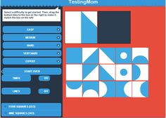Pattern Tiles Advanced Beta- Great Practice for the NNAT, WISC, and the Stanford-Binet Level: Easy