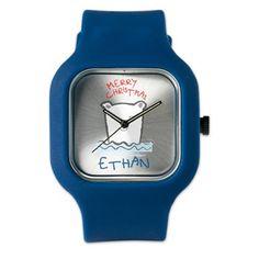 adorable polar bear with custom name Watch