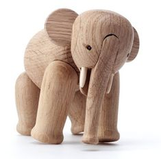 Plywood Elephant byCharles and Ray Eames,1945     Warm and natural, wood is such an attractive material to me.   I still cherish...