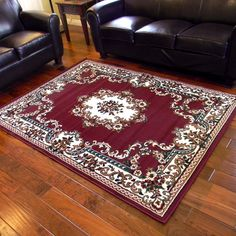TajMahal Burgundy Oriental Area Rug by DonnieAnn Company Rugs For Less, Burgundy Rugs, Design Trends 2018, Discount Rugs, Indoor Rugs, Rug Store, Online Home Decor Stores, Throw Rugs, Cool Rugs