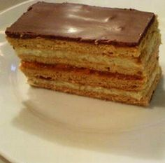 my hubby's fave Hungarian dessert called honey and cream bars