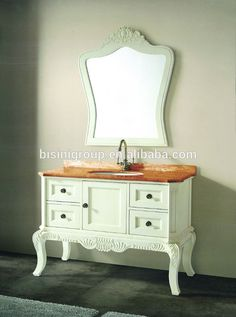 Europeu móveis de casa de banho, madeira armário de banheiro com pia, vaidade do banheiro vintage( bf08- 4280)-Toucador em banheiro-ID do produto:60088916615-portuguese.alibaba.com