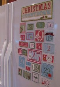 Do-It-Yourself: Magnetic Christmas Countdown