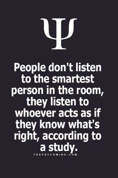 Ugh...so true...they blustering BS can become overwhelming listening to... & people just buy into the idiocy