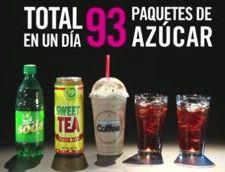 ¿CUANTA AZÚCAR CONSUME AL DÍA?: ¿Cuánta azúcar se toma en un día? Vea como tan sólo unas pocas bebidas al día suman una gran cantidad de azúcar y podrían provocarle enfermedades graves.