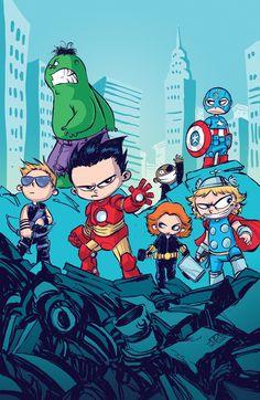 #Avangers #Fan #Art. (Avengers Movie Poster) By: Skottieyoung.