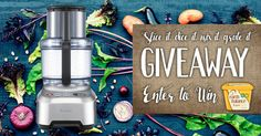 Slice, dice and julienne like a professional sous chef with a Breville Food Processor! Gain an additional 5 entries by sharing this! http://mjr.earthbalancenatural.com/slice-it-dice-it-mix-it-grate-it/