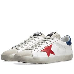 0b56652fb43 GOLDEN GOOSE GOLDEN GOOSE DELUXE BRAND SUPERSTAR LEATHER SNEAKER.   goldengoose  shoes