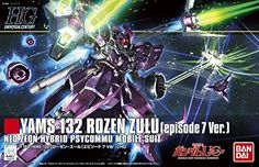 Bandai Hobby 185 1144 HGUC YAMS132 Rozen Zulu Episode 7 Ver Gundam Unicorn Model Kit *** See this great product.
