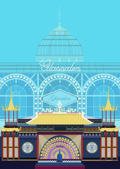 Peacock Theatre Tivoli - illustrated by #Sivellink