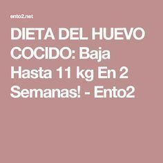 DIETA DEL HUEVO COCIDO: Baja Hasta 11 kg En 2 Semanas! - Ento2 Catfish Recipes, Sin Gluten, Detox, Health Fitness, Low Carb, Healthy Recipes, Healthy Foods, How To Plan, Tips