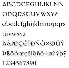 old irish calligraphy font - Google Search