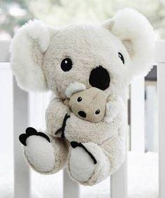 Look at this Cloud b Soothing Sounds Mama Koala™ on today! Cute Little Baby, Cute Babies, Koala Nursery, Daddys Little Princess, Baby Koala, Koala Bears, Unicorn Pillow, Baby Prince, Cute Plush