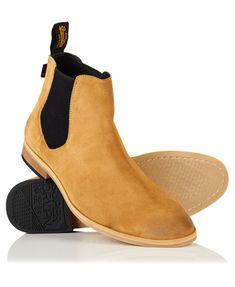 Superdry Meteora Chelsea Boots Hellbraun