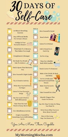 Self Care Bullet Journal, Vie Motivation, Happiness Challenge, Mental And Emotional Health, Self Care Activities, 30 Day Challenge, Challenge Ideas, Self Improvement Tips, Self Care Routine