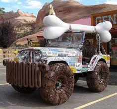 crazy jeep!
