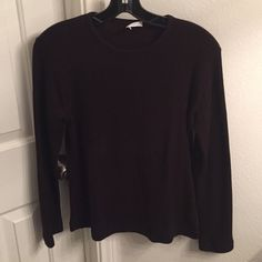 Brown Sweater Brown Sweater in great condition! Joan Voss Sweaters