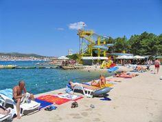 Hangar beach in Vodice