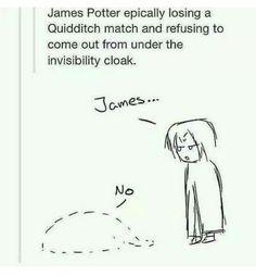 "Harry Potter. ""James..."" ""No."""