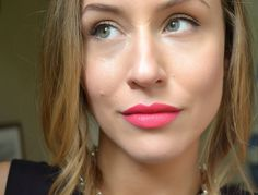 OCC Lip tar in Queen. Love the fresh-face, natural makeup look too.