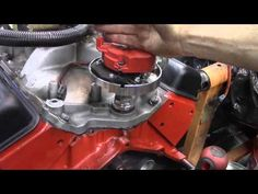 In this video, you'll learn how to correctly install a distributor in a small block Chevrolet 350 engine. Truck Engine, New Engine, Engine Swap, Engine Block, C10 Chevy Truck, Chevy Trucks, Gmc Pickup, Crate Motors, Car Workshop