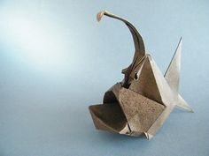 Devil Fish - Yuri Shumakov | From a square of kraft painted … | Flickr