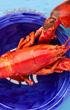 USDA Nutrition data shows that when compared to other proteins, lobster is lowest in calories and saturated fat.