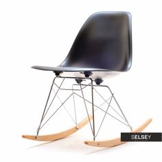 Krzesło bujane MPC ROC czarne Sit Back And Relax, Rocking Chair, Eames, Chairs, Steam Punk, Furniture, Design, Home Decor, Chair Swing