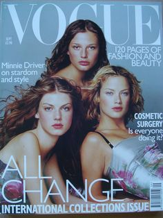 Vogue Magazine, September 1998