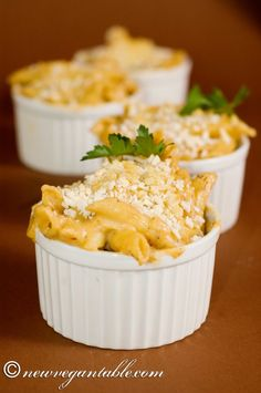 Black Truffle Mac & Cheese - New Vegan Table