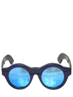 KUBORAUM BERLIN - MASK SUNGLASSES WITH MIRRORED LENSES