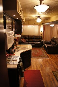 Installing our new floors made our camper feel so much more like a home! =)