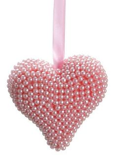 pink pearl heart ♥♥♥♥ ❤ ❥❤ ❥❤ ❥♥♥♥♥