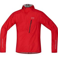GORE BIKE WEAR Mens RESCUE WINDSTOPPER Active Shell Jacket size S red ** Read more reviews of the product by visiting the link on the image.(This is an Amazon affiliate link and I receive a commission for the sales)