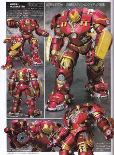 ToyzMag.com » Avengers : Mafex Hulkbuster – Iron Man Mark 44
