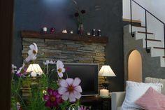 home design |TEPEE HEART #Naturai stone #mortar wall