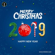 merry christmas and happy new year 2018 greeting psd template