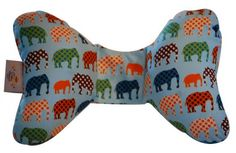 Baby Elephant Ears - neck support cushion for strollers, buggies and carseats.