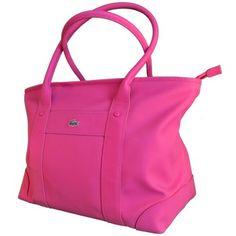 Shopping bag en fucsia de Lacoste en lujocheap.com