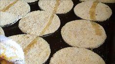 Berinjela crocante: empanada e assada